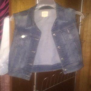 Cello Blue Jean vest